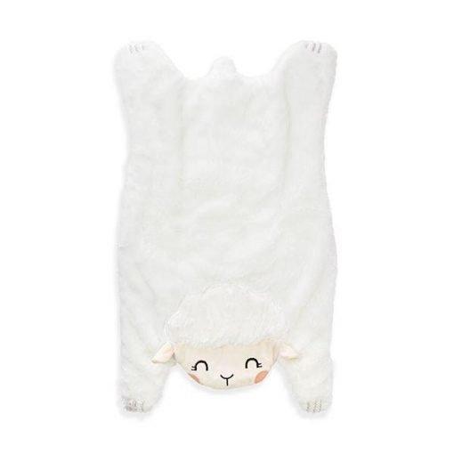 lamb tummy time baby playmat