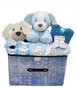 extra large first puppy hamper